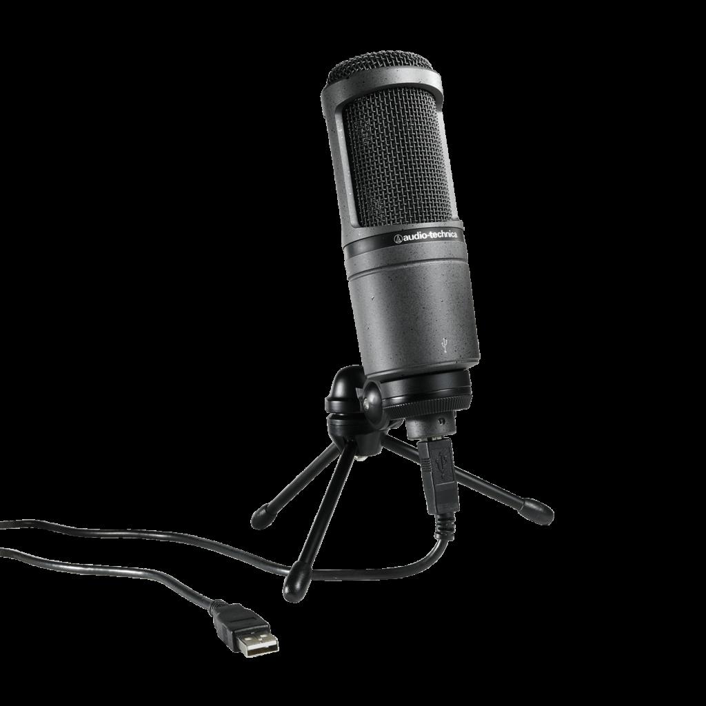 Audio Technica AT-2020 USB  Mejores Microfonos para Radio