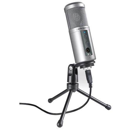 Audio Technica ATR-2500X USB  Mejores Microfonos para Radio
