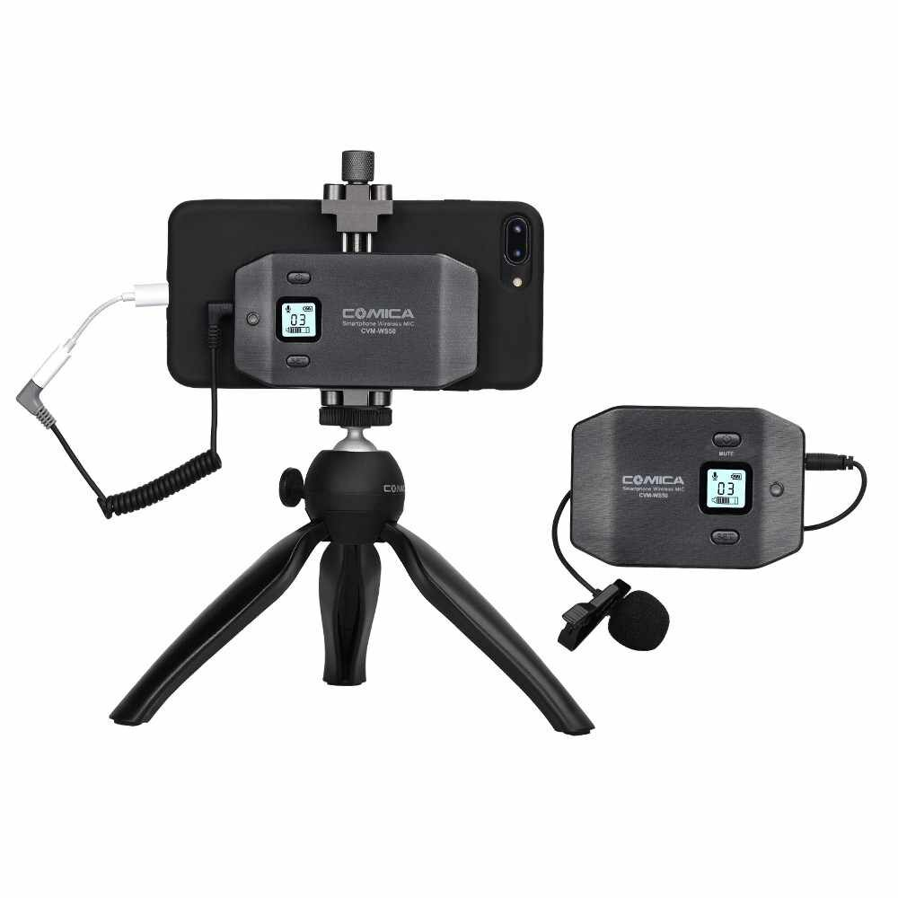 Comica CVM-WS50 mejores micrófonos para iPhone