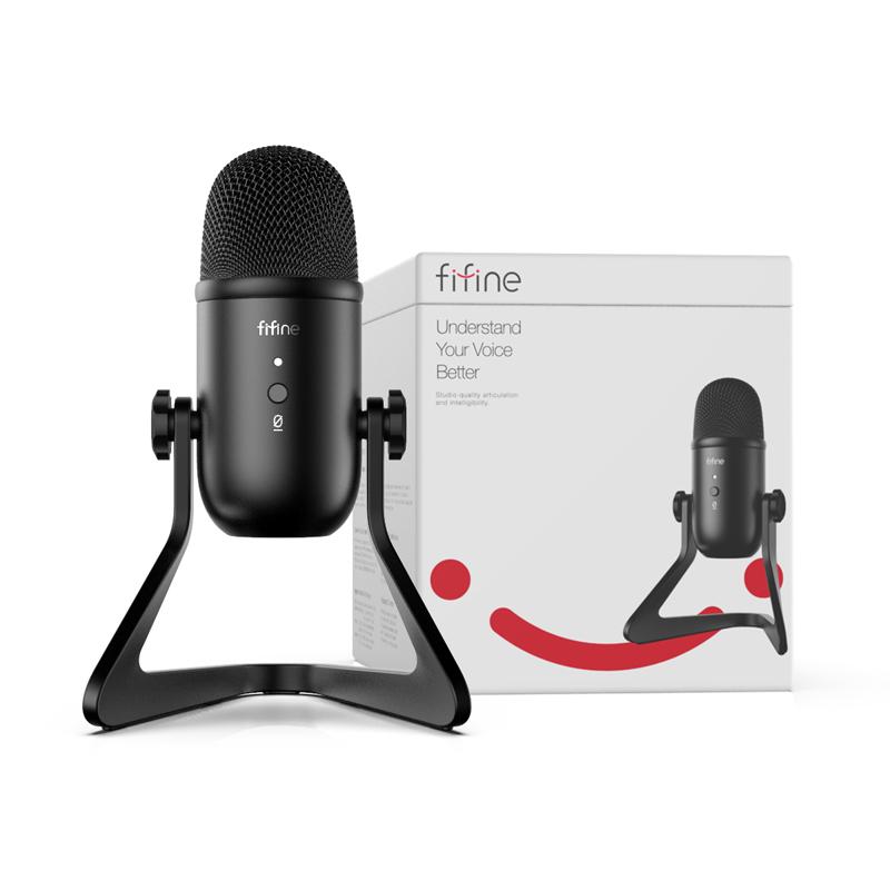 Micrófono condensador de metal Fifine
