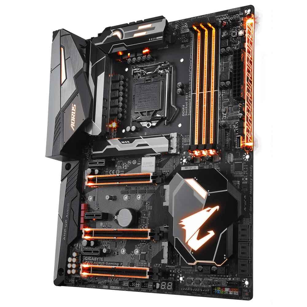 GIGABYTE Z370 AORUS GAMING 7 mejores placas base para Intel Core i7 9700K
