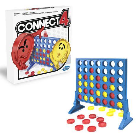 Hasbro Connect 4 Mejores Juegos de Mesa para Niños