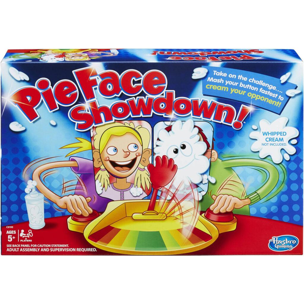 Hasbro Gaming Pie Face Showdown Mejores Juegos de Mesa para Niños