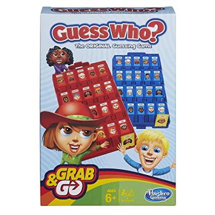 Hasbro Guess Who  Mejores Juegos de Mesa para Niños