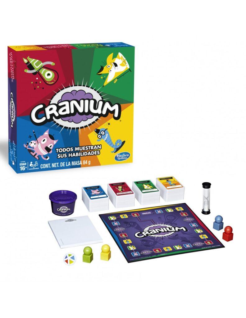 Hasbro Juego Cranium Mejores Juegos de Mesa para Niños