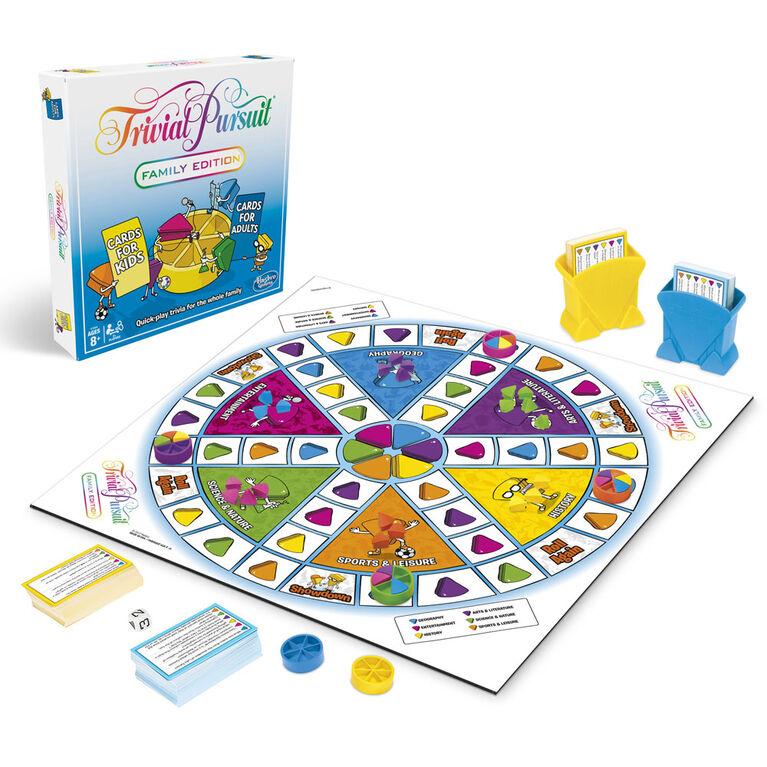 Hasbro Trivial Pursuit Mejores Juegos de Mesa para Niños