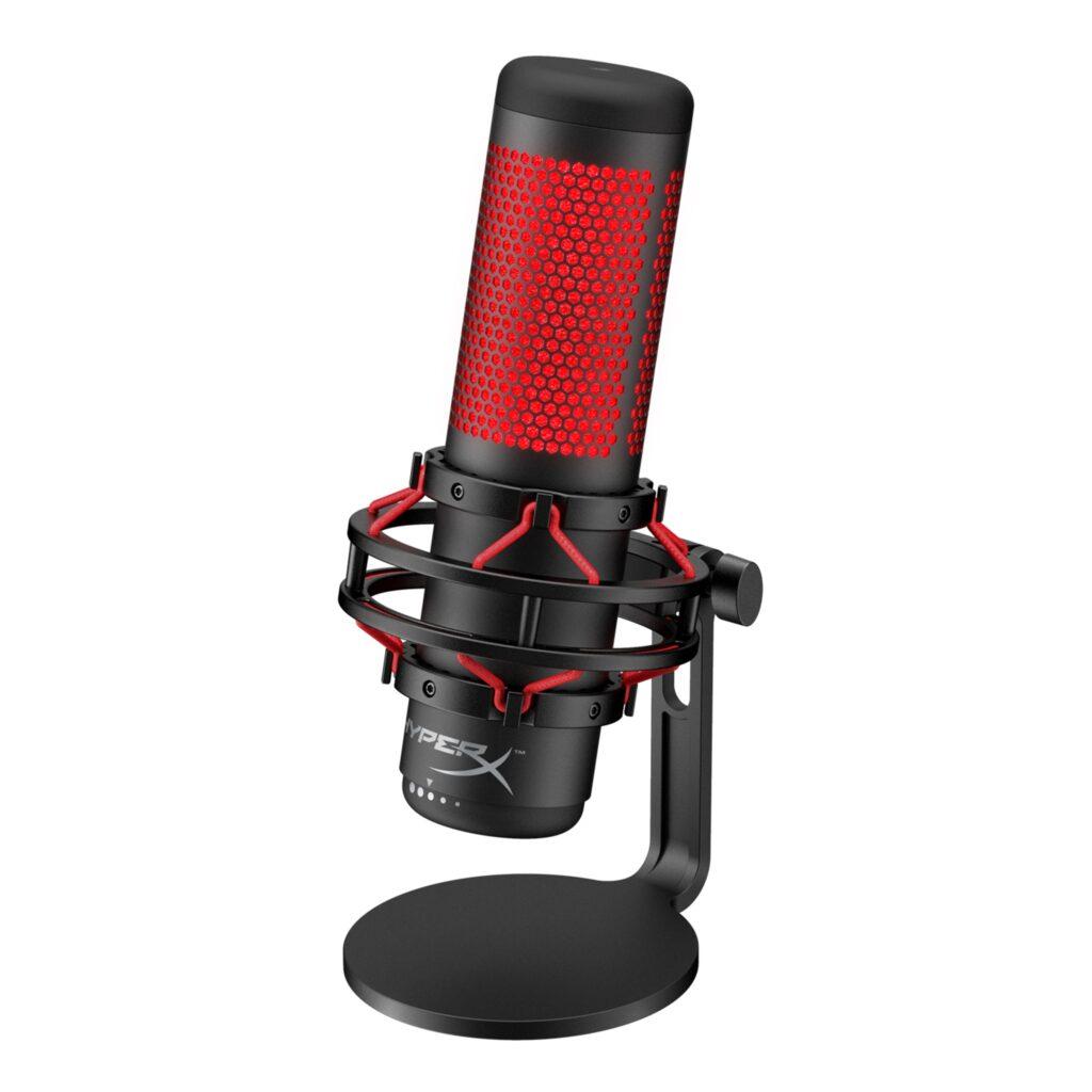 Mejores micrófono para juegos - Mejor elección: Hyperx Quadcast