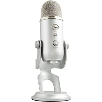 Micrófono USB Blue Yeti  Mejores Microfonos para Radio