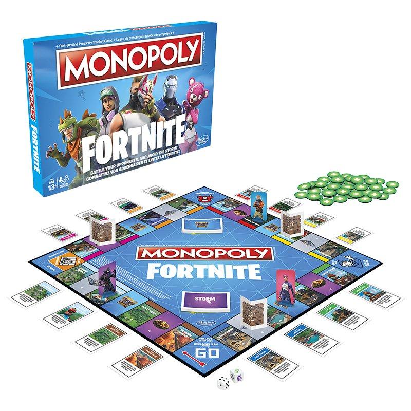 Monopoly FortNite Mejores Juegos de Mesa para Niños