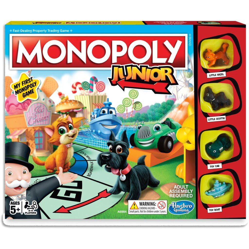 Monopoly Junior Mejores Juegos de Mesa para Niños