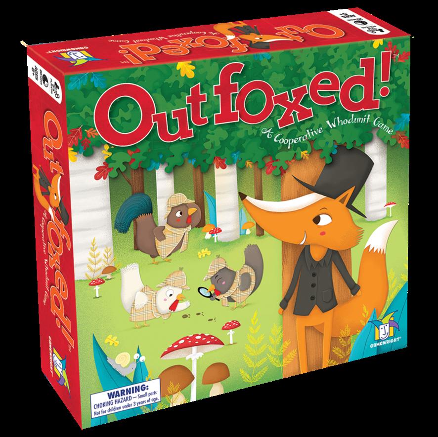 Outfoxed Mejores Juegos de Mesa para Niños