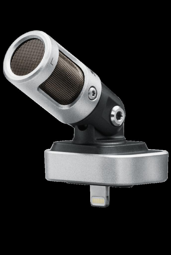 Shure MV88 mejores micrófonos para iPhone