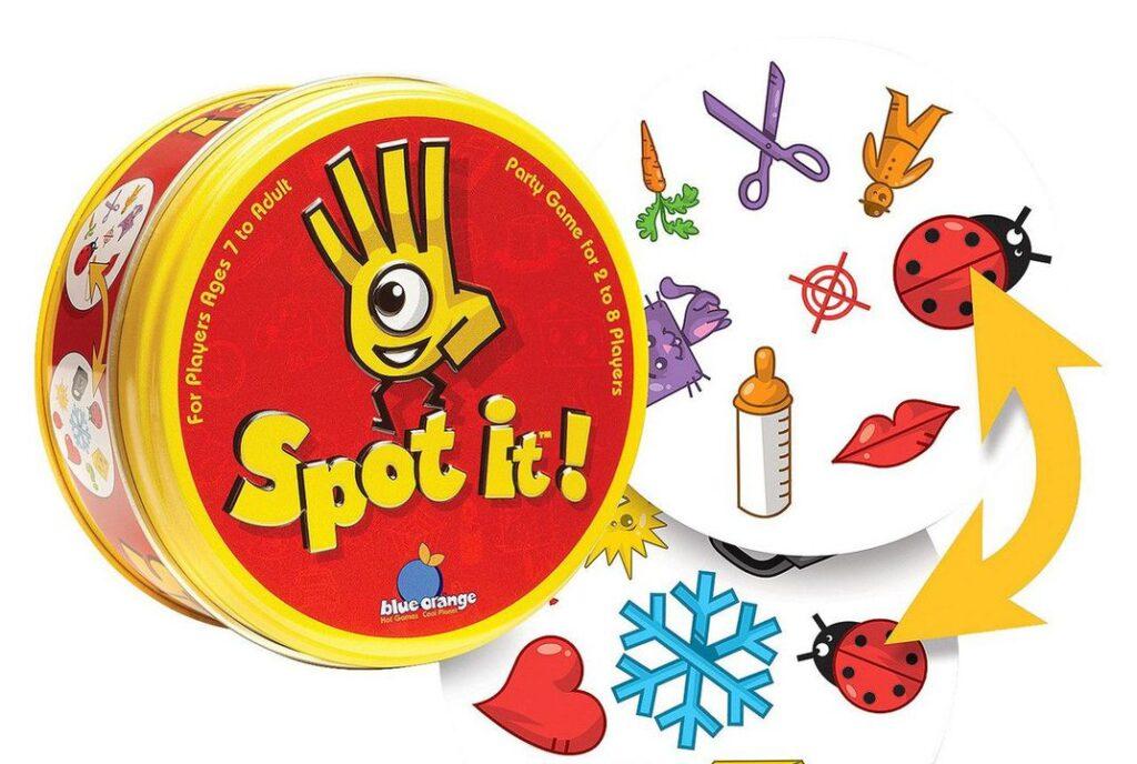 Spot It! Mejores Juegos de Mesa para Niños