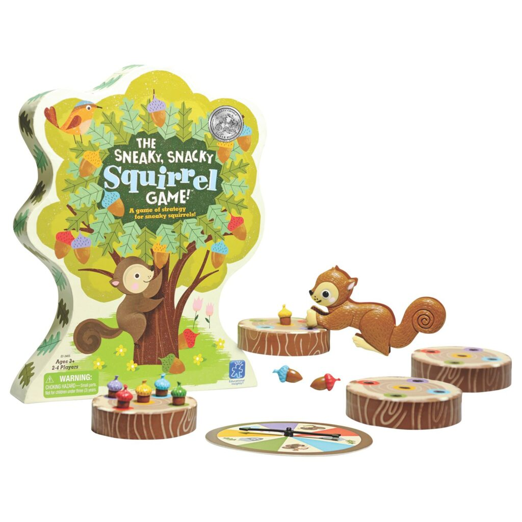 The Sneaky, Snacky Squirrel Mejores Juegos de Mesa para Niños