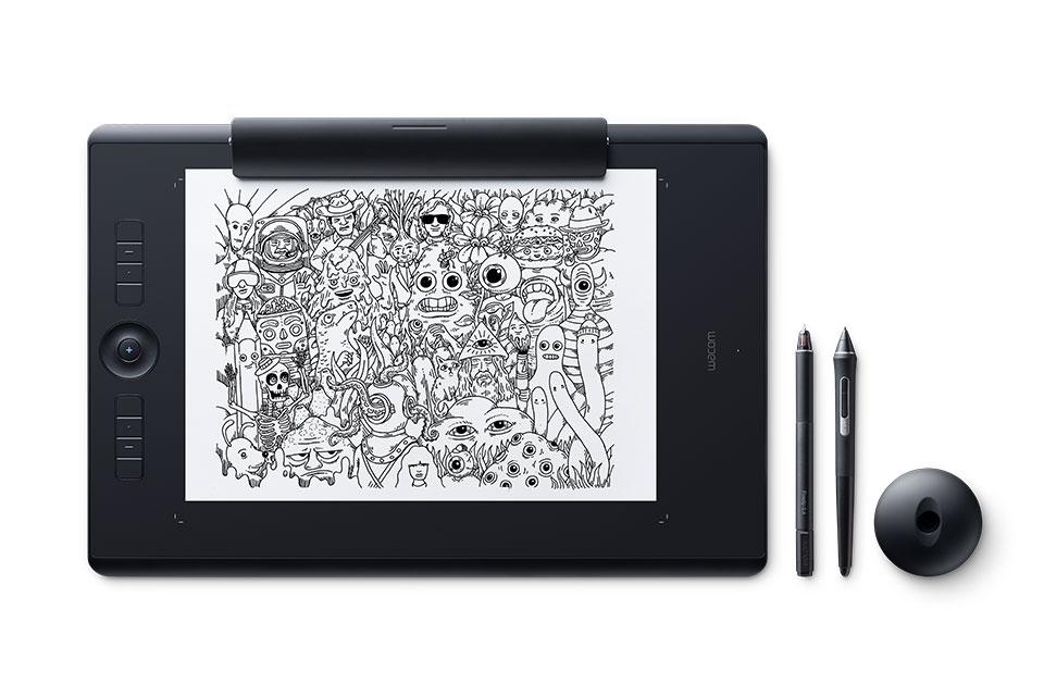 Wacom Intuos Pro (grande): la mejor tableta de dibujo con tecnología multitáctil