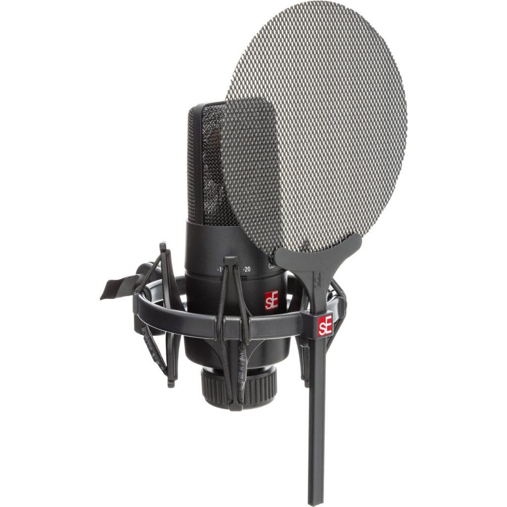 El mejores micrófono XLR para juegos: sE Electronics X1