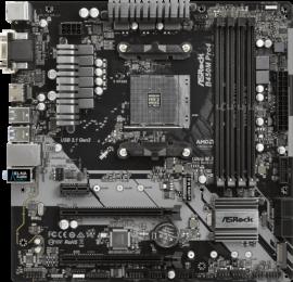 ASRock B450M Pro4 - La mejor placa base mATX para Ryzen 5 3600