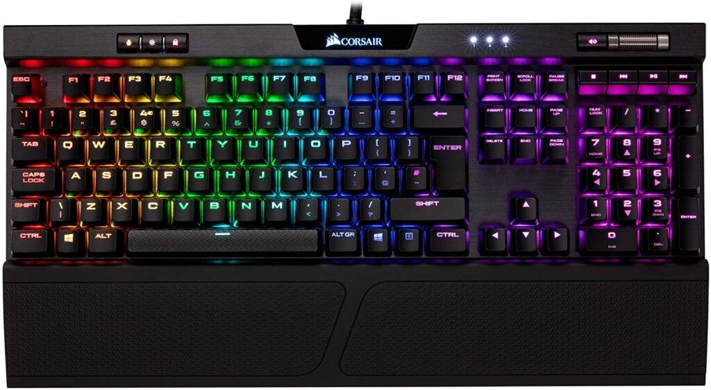 Corsair K70 RGB MK.2: El mejores Teclado Gaming de Bajo Perfil