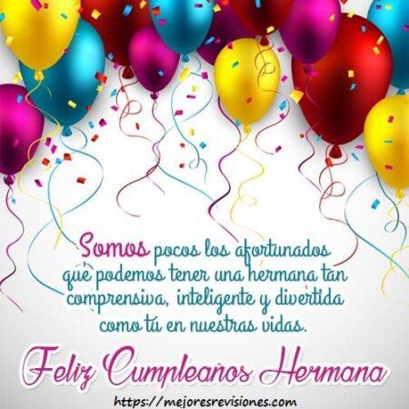 Imagenes Y Frases De Feliz Cumpleaños para Una Hermana