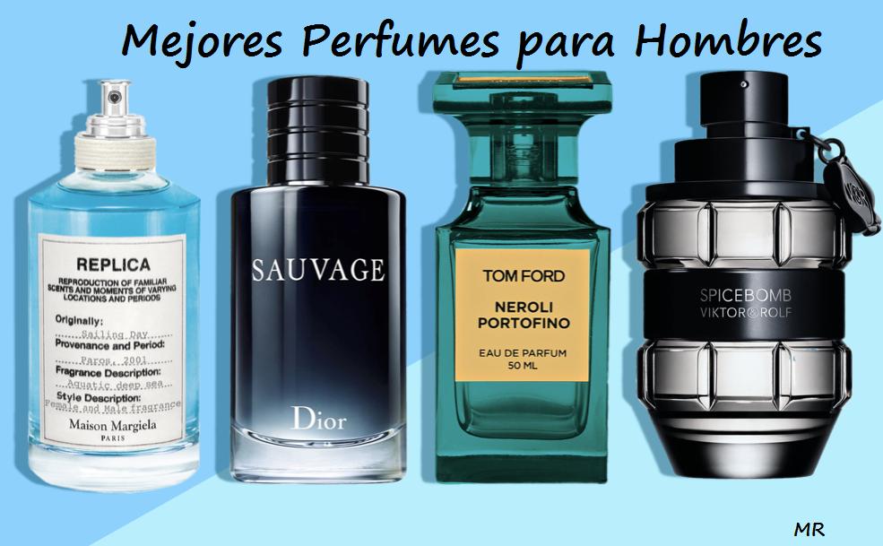 mejores perfumes para hombres