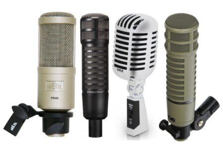 Los 11 Mejores Micrófonos Dinámicos Baratos en 2021