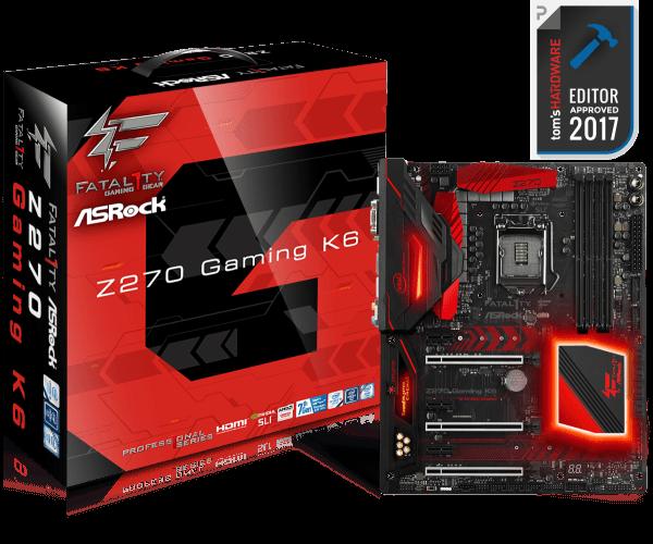 ASRock FATAL1TY Z270 GAMING-ITX / AC LGA1151