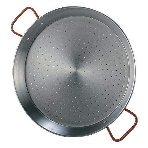 La Ideal 071052 Paellera de acero pulido