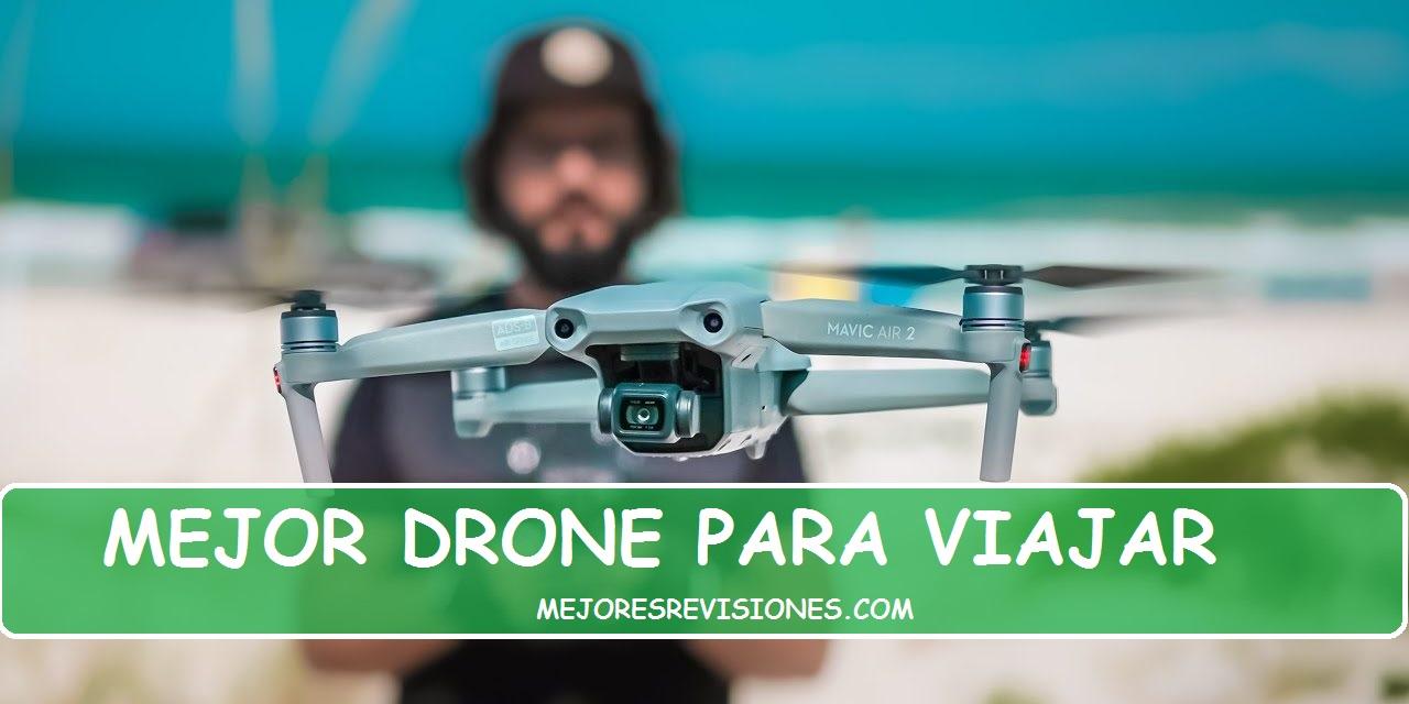 9 Mejores Drones para Viajar y Aventuras en 2021