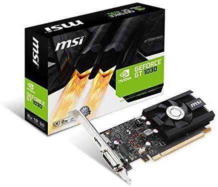 Nvidia Geforce GT 1030 de perfil bajo