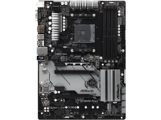 ASRock B450 Pro4 - La mejor placa base ATX para Ryzen 5 3600