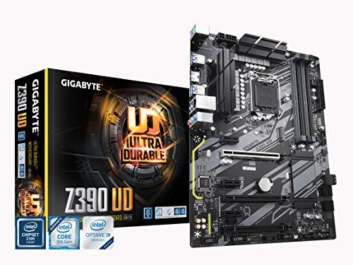La Mejor placa base Duradera para i5 8600k: GIGABYTE Z390 UD