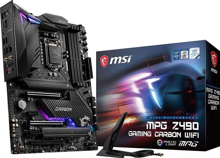 MSI-MPG-Z490-Gaming-Carbon-WiFi-Gaming-Motherboard