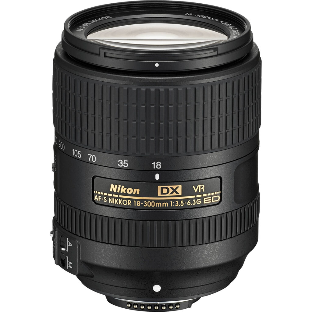 Nikon 18-300mm f/3.5-5.6