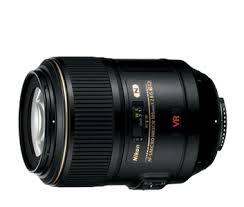 Nikon AF-S VR Micro-Nikkor 105 mm f / 2.8G IF-ED