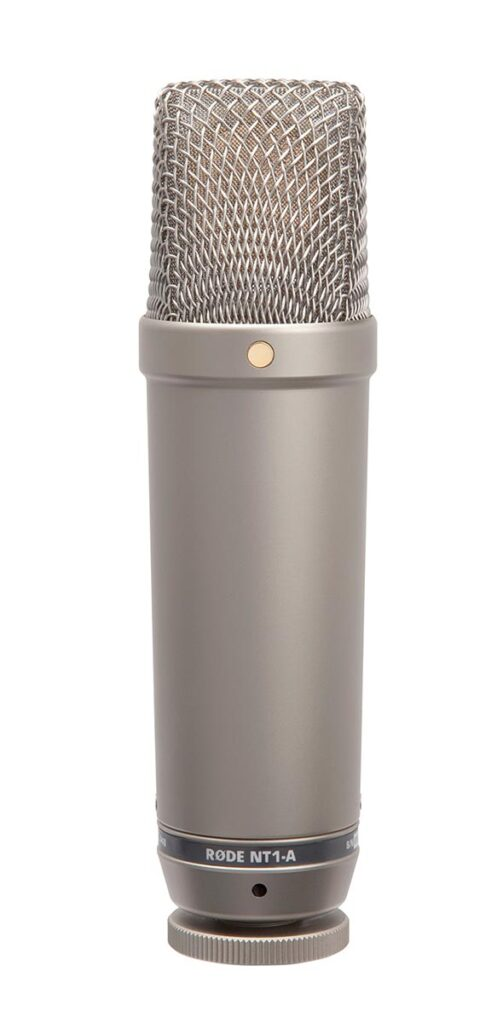 mejor micrófono de condensador