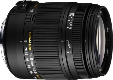 SIGMA 18-250MM F3.5-6.3