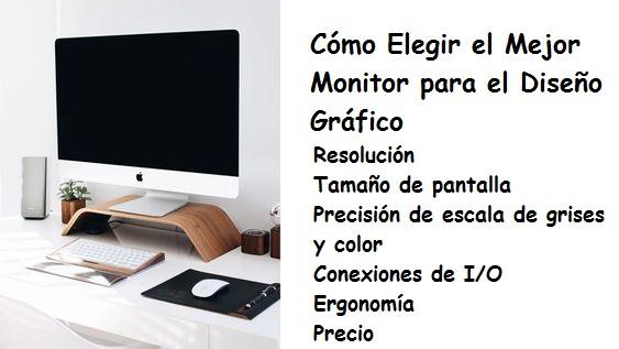 Mejores Monitores para Diseño Gráfico