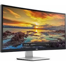 Monitor Dell UltraSharp U3415W curvo con iluminación LED de 34 pulgadas